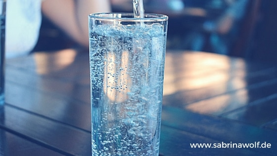 trink das was du bist wasser